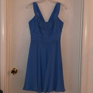 Was a bridesmaids dress from David's bridal lined